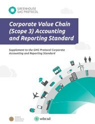 Corporate Value Chain (Scope 3) Accounting and Reporting Standard