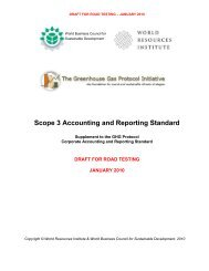 Scope 3 Accounting and Reporting Standard