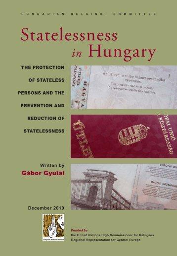 Statelessness Hungary