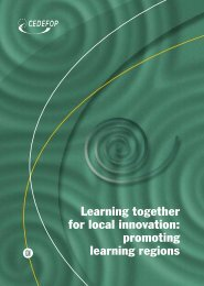 promoting learning regions