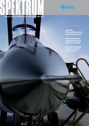 Schwerpunktthemen Luftwaffe: Führungsfähigkeit durch  mobile - ESG
