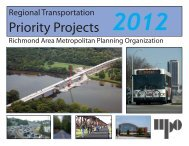 Priority Projects - Richmond Regional Planning District Commission