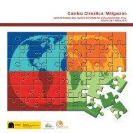 Cambio Climático Mitigación