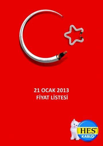 Fiyat Listesi.cdr - Hes Kablo