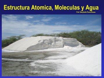 Estructura Atomica Moleculas y Agua