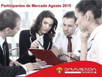Participantes de Mercado Agosto 2015