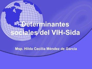 Determinantes sociales del VIH-Sida