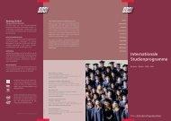 Studienprogramme auf hohem Niveau - ESO
