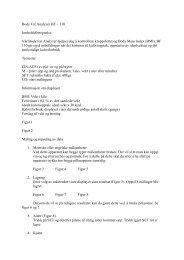 Body Fat Analyzer BF – 110 Innholdsfortegnelse ... - Netthandelen.no