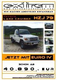 Toyota Land Cruiser HZJ 79 _Stand-April.2009 - Sportwagen