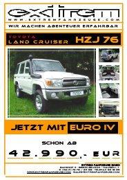 Toyota Land Cruiser HZJ 76 _Stand-April.2009 - die sportwagen bei ...