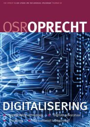 OSROPRECHT digitalisering