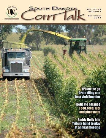 September 2011 - South Dakota Corn Growers Association