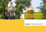Demokratie und Zivilgesellschaft Deutsch-ukrainische Projekte in ...