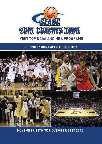 VISIT TOP NCAA AND NBA PROGRAMS