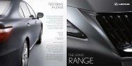 THE LEXUS - Toyota