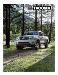 Toyota Tacoma Brochure
