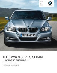 THE BMW  SERIES SEDAN