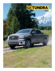 2012 Toyota Tundra - Toyota Certified Used Vehicles
