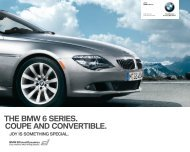 THE BMW 6 SERIES. COUPE AND CONVERTIBLE. - Dealer