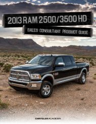 New 2013 Ram 2500/3500 HD