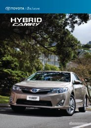 CAMRY HYBRID i-TECH IN MAGNETIC BRONZE