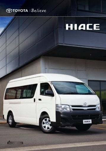 HIACE ZX IN FRENCH VANILLA