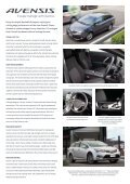AVENSIS IN GRAPHITE - Page 2