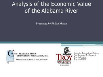 of the Alabama River