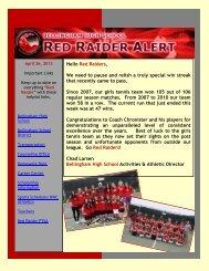 E-Blast Newsletter - Bellingham High School