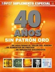 40 AÑOS SIN PATRÓN ORO - Info7
