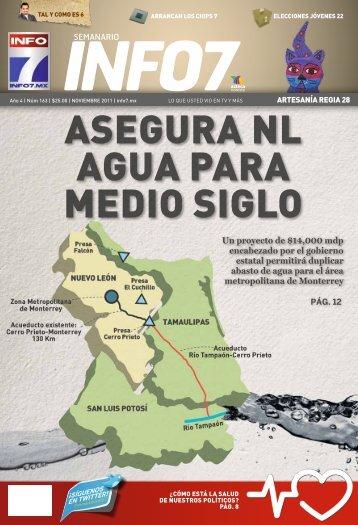Asegura NL agua para medio siglo