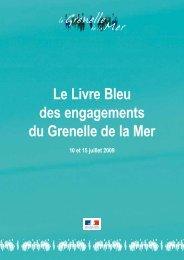 Le Livre Bleu des engagements du Grenelle de la Mer