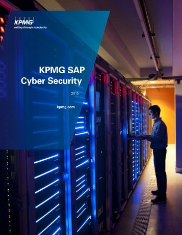 KPMG SAP Cyber Security