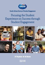 Focusing the Student Experience on Success through Student Engagement