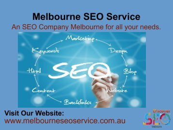 SEO Agency Melbourne | Search Engine Optimization Melbourne