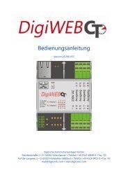 1 Die webbasierende Zeitschaltuhr - Digitronic GmbH