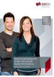 DHBW_Masterstudienfuehrer.pdf - Duale Hochschule Baden ...