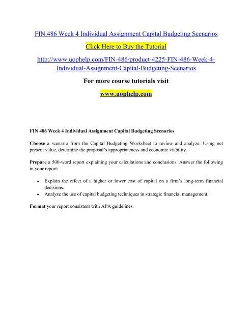 Cost Of Capital Pdf