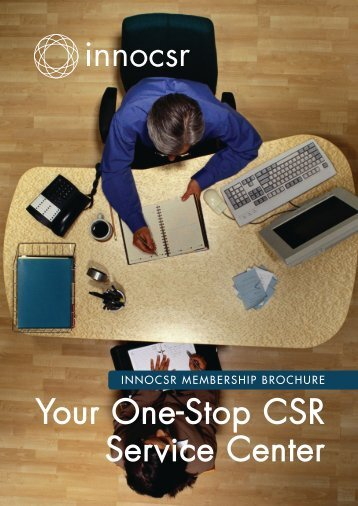Your One-Stop CSR Service Center