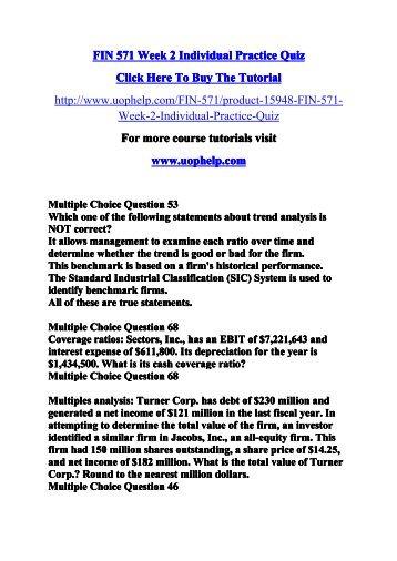 Fin 571 week 5 individual practice quizpdf fin 571 week 2 individual practice quizpdf fandeluxe Gallery