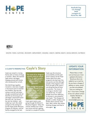 Gayle's Story