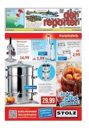 der reporter - Das Familienwochenblatt für Fehmarn 2015 KW 37