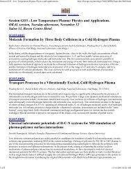LowTemperaturePlasma.. - Rohner Machine and the Papp Engine
