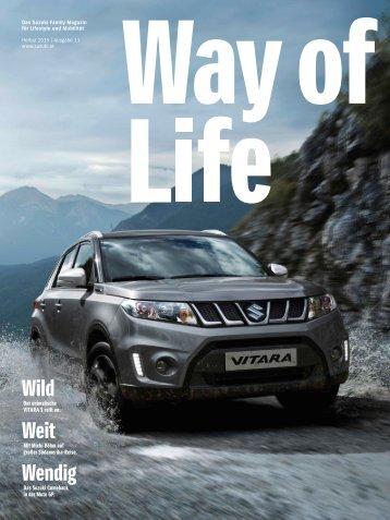 Way of Life Herbst 2015 | Ausgabe 11