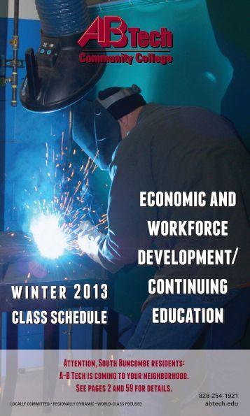 economic and workforce development/ continuing education