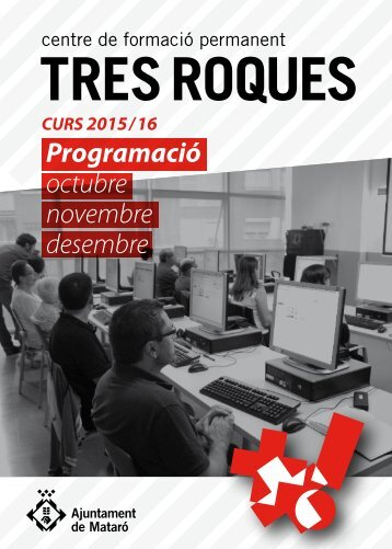 Programació octubre novembre desembre