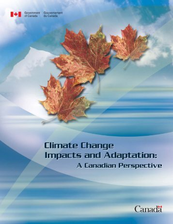 Climate Change Impacts and Adaptation