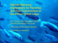 Climate Warming Implications for Fisheries and Fish Communities of ...