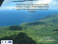 Paleoclimate perspectives on future climate change in Great Lakes ...